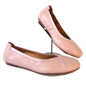 Vionic Pink Caroll Ballet Flats Shoes 10 Leather
